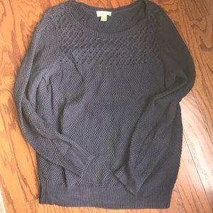 LOFT Navy Sweater